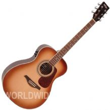 Vintage VE300SB Electro Acoustic Guitar - Sunburst finish - Brand New